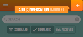 Add conversation on mobile