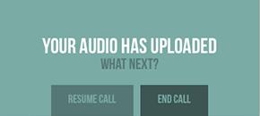 Call resuming